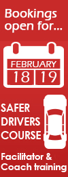 SAFER DRIVER FEBRUAURY stickies